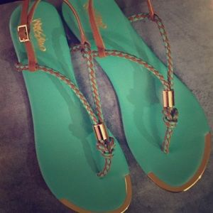 Mossimo Mint Sandals